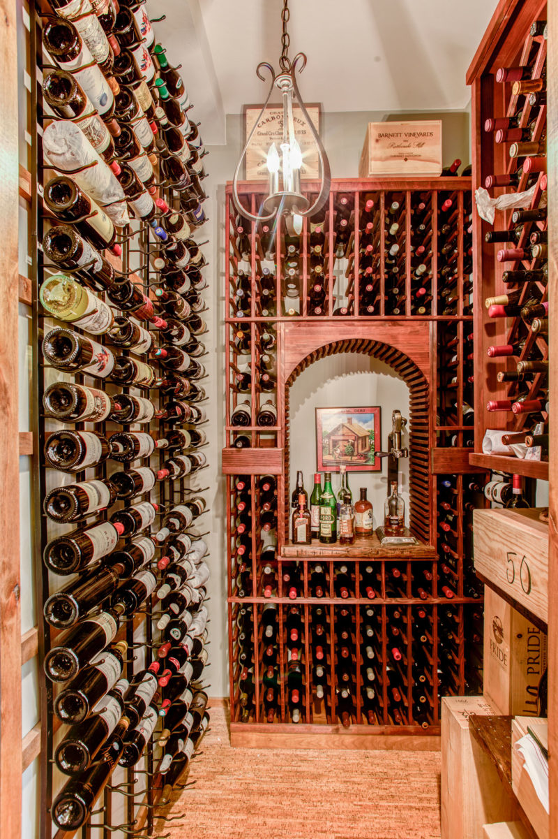 Mission Builders Denver Interior Remodel Wine Closet